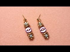 "DIY - earrings ""Fiorstella"" Arcos Minos par Puca - YouTube"
