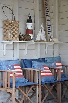 Patio nautical theme Design Ideas, Pictures, Remodel and Decor