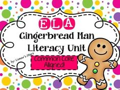 Everyone loves beginning the school year with the Gingerbread Man!  While the kids are still excited from the hunt, why not keep the momentum going?  This Common Core Gingerbread Man Unit is over 150 pages of activities that can KEEP YOUR STUDENTS ENGAGED FOR A WEEK!  (Maybe even longer!) Your students will compare 4 popular Gingerbread stories including The Gingerbread Man by Karen Schmidt, The Gingerbread Man Loose in the School by Laura Murray, The Gingerbread Girl by Lisa Campbell…