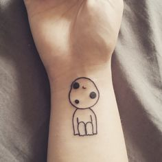 FYeahTattoos.com — my little kodama :) done at dead drift tattoo in...