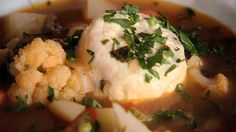 Main dishes in Malta are very rustic. The widow's soup (soppa tal-armla) is a vegetable soup with Gbejniet (sheep or goat cheese) added.