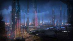 Mass Effect 2 - Illium - Environment Artwork