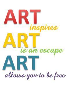 Art inspires