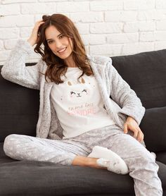 morning moment in time Lazy Day Outfits, Cute Outfits, Pyjamas, Night Suit For Girl, Pyjama 3 Pieces, Pijamas Women, Couple Pajamas, Sharara Designs, Tumblr Outfits