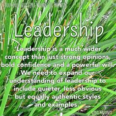 LOP Week 14 TSSW is Leadership