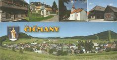 Čičmany Places Of Interest, Bratislava, Prague, Postcards