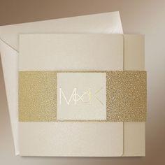 Modern Gold Wedding Invitations - Infinity Gold at Polina Perri #weddinginvitations #goldweddinginvitations #modernweddinginvitations #weddinginvitationsUK