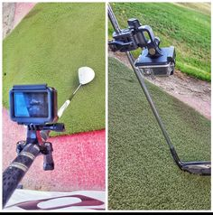 GoPro Mounted on a Golf Club