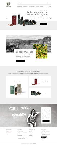 Webdesign Rosazucena - Accueil site web - Portfolio Caroline Constant
