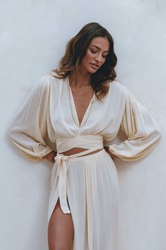 Pampelone Clothing, Long Beach Cover Up, Mode Shoes, Boho Fashion, Fashion Outfits, Tie Styles, Beachwear For Women, Mode Inspiration, Mode Outfits