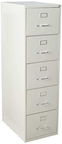 Commercial-grade vertical file features five high-sided drawers that accommodate legal-size, hanging file folders without additional accessories. Slide suspension allows maximum drawer extension. Steel ball bearings provide smooth, quiet drawer performance. Even fully loaded, these drawers open... more details available at https://furniture.bestselleroutlets.com/home-office-furniture/file-cabinets/vertical-file-cabinets/product-review-for-lorell-llr48502-commercial-grade-vert