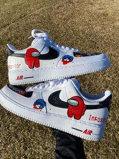 Custom Jordans, Custom Sneakers, Custom Shoes, Cool Nike Shoes, Nike Air Shoes, Sneakers Fashion, Shoes Sneakers, Nike Boots, Cute Nikes