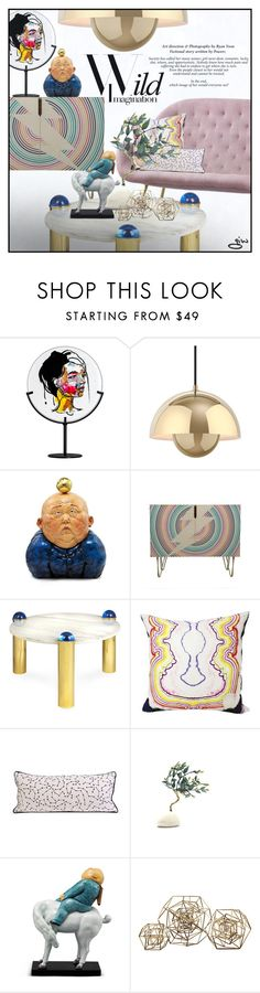 """""""kristi..."""" by ian-giw ❤ liked on Polyvore featuring interior, interiors, interior design, home, home decor, interior decorating, &Tradition, X+Q, Jonathan Adler and modern"""