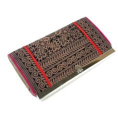 Hmong Batik Clutch - Earth - Thailand
