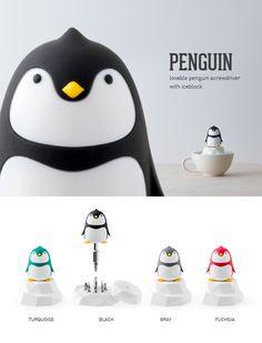 【超療癒系】PenGuin 起子工具組-冰山款 - iThinking | Pinkoi