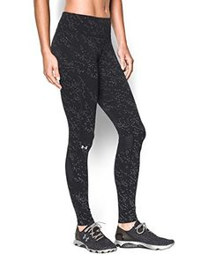 Under Armour Women's UA Fly Fast Luminous Legging Extra Small Black