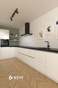 Kitchen Rules, Home Decor Kitchen, New Kitchen, Home Kitchens, Kitchen Design, L Shaped Kitchen, Design Moderne, Cuisines Design, Kitchen Essentials