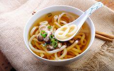 Receta de Sopa de fideos udon con setas   Demos la vuelta al día