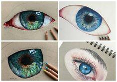 Eyes Artwork, Watercolor Tattoo, Tattoos, Tatuajes, Tattoo, Temp Tattoo, Tattos, Tattoo Designs