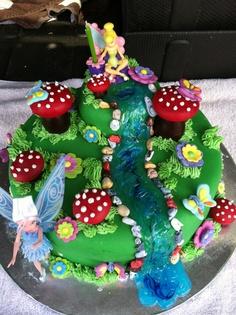 My Fairy Garden Cake
