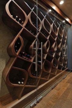 Unique wine storage