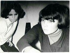 Mod girls at a Yardbirds gig, 1964