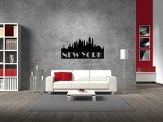New York Skyline Vinyl Wall Decal Sticker Graphic