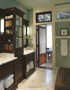 master bath love the separate sinks!