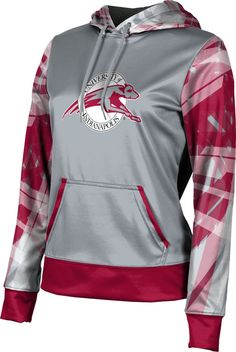 ProSphere Utah Valley University Girls Pullover Hoodie Crisscross School Spirit Sweatshirt