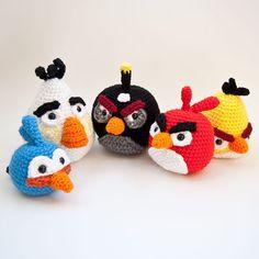 Angry birds crochet!