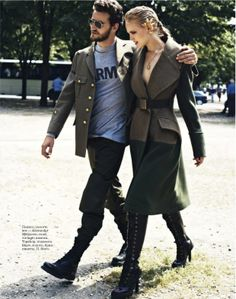 visual optimism; fashion editorials, shows, campaigns & more!: anne-sophie monrad by thomas nutzl for elle russia september 2012