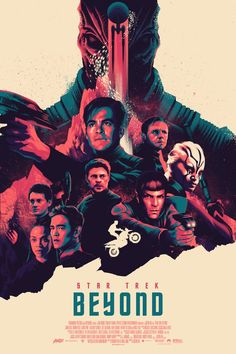 Star Trek Beyond Poster - Created by Matt Taylor