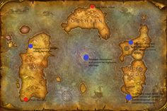 Map of azeroth fantasy maps pinterest fantasy map ancient map of the world mystery google search gumiabroncs Gallery