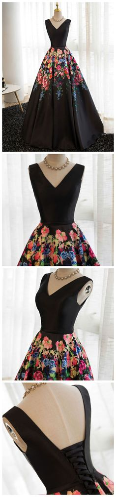 prom dresses long,prom dresses boho,prom dresses floral,beautiful prom dresses,prom dresses 2018,prom dresses elegant,prom dresses a line,prom dresses v neck,prom dresses different #amyprom #longpromdress #fashion #love #party #formal