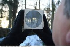 Origami Camera Obscura Folded Paper And Glass Lens Is A Small Portable Work Designed To Fit In Pocket Until The Moment Of Use
