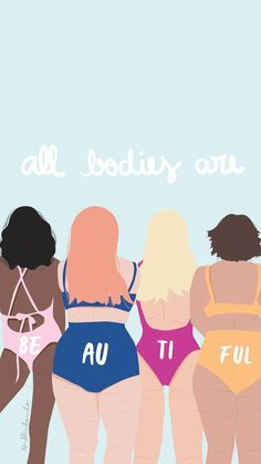 l a c e (ノ◕ヮ◕)ノ*:・゚✧ - - - Body Positivity - Body Love, Loving Your Body, Plakat Design, Body Shaming, Feminist Art, Feminist Quotes, Equality Quotes, Illustration, Body Image