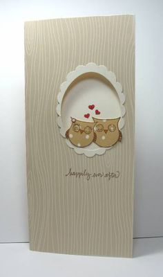 cute card, try with owl punch?