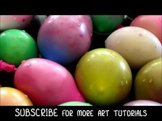Mr. Otter Art Studio ▶ How to Fill Water Balloons with Paint (and how not to) - SUMMER FUN SERIES - YouTube
