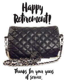 Old Purse  Flamingos + Fringe Blog | RETIREMENT PARTY!...FOR MY PURSE