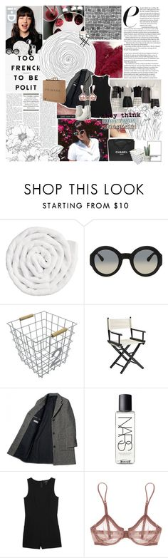 """""""they think they know everything"""" by accidental-artist ❤ liked on Polyvore featuring VIPP, Chanel, Gucci, Circo, Pier 1 Imports, NARS Cosmetics, Monki, La Perla, MM6 Maison Margiela and women's clothing"""