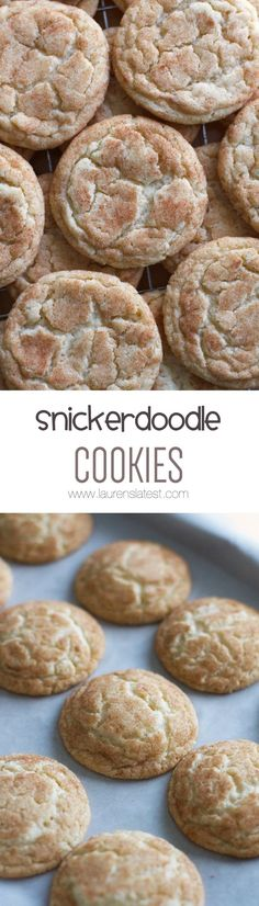 {Perfect Every Time} Snickerdoodle Cookies... This honestly is a fool-proof recipe that you'll continue to come back to again and again. Slightly crispy edges with big chewy centers, these cookies are the epitome of perfection.