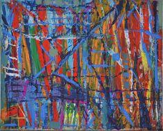 Modern Colorist Painting: Becker Beste No. 8, abstract expressionist art, informal art, acrylic painting, Berlin art, home decor, art decor