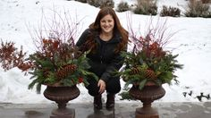 Creating a Winter Planter