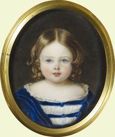 Виктория, королевская принцесса (1840-1901) Подпись и дата 1 843