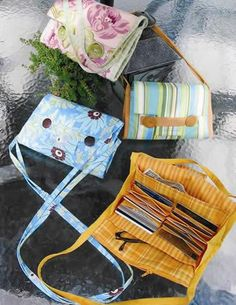 "Favorite Things  A Wallet Purse Pattern from @fabricdotcom  A compact handbag for all the essentials. Outside back pockets for cell phone etc. and multiple inside pockets (one that zips!) It includes an accordion folding credit card holder and has options for short or shoulder-length handles. Finished dimensions: 9""l x 6""w.  Suggested fabrics include cotton prints, twill, denim, velvet, canvas and corduroy.   <br><a href=http://d2d00szk9na1qq.cloudfront.net/Images/PDF/FT-070B.pdf>Click here…"