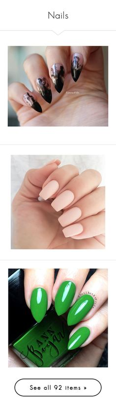 """Nails"" by topilots ❤ liked on Polyvore featuring beauty products, nail care, nail treatments, nails, beauty, makeup, unhas, nail polish, nail art and shiny nail polish"