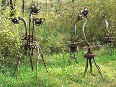 Forevertron: World's Largest Scrap Metal Sculpture by Dr. Evermor - Neatorama