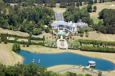 This was formerly called Deans Garden... in Johns Creek Ga.. On 58 acres with an 18 hole golf course this estate  sold for 7.6 million in 2010 to Mr.Tyler Perry