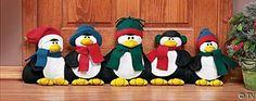 Penguin Door Draft Stopper, Christmas Crafts