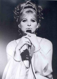 Barbara Streisand. Hair Do  Accessory.